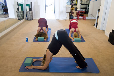 pilates et le yoga